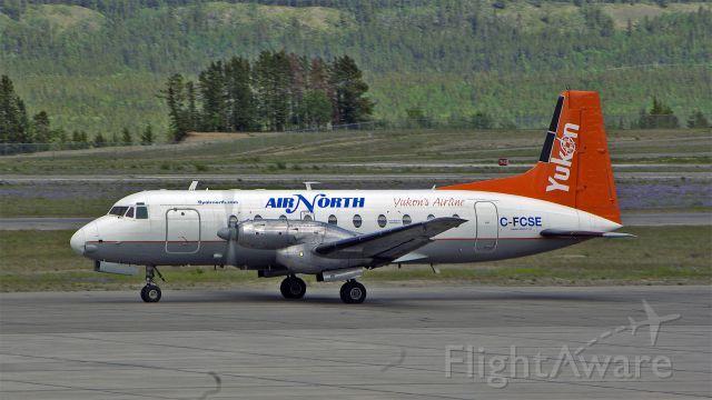 Air North Hawker Siddeley HS-748 Srs2A/269 (C-FCSE) at Whitehorse (CYXY) Yukon