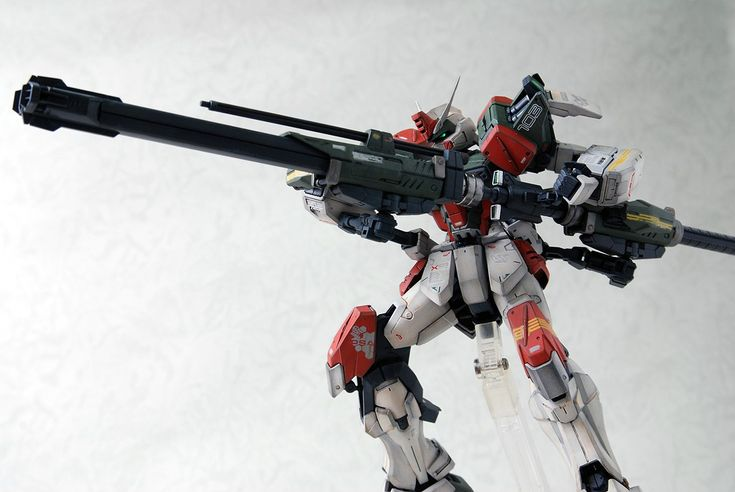 MG 1/100 GAT-X103 Buster Gundam: amazing work by 成真 (成真) Full Photoreview No.33 Wallpaper Size Images | GUNJAP