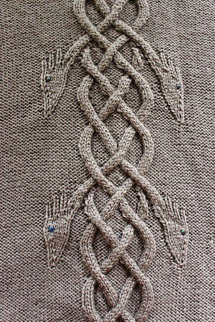 knittingfornerds:   Dancing Dragons Coat pattern...