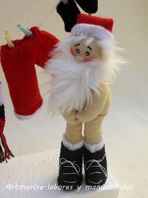 Papa Noel desnudó