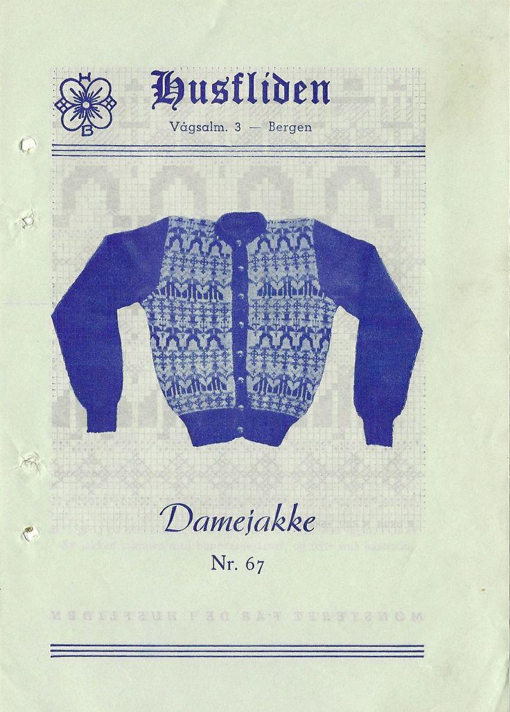 Husfliden 67 Damejakke