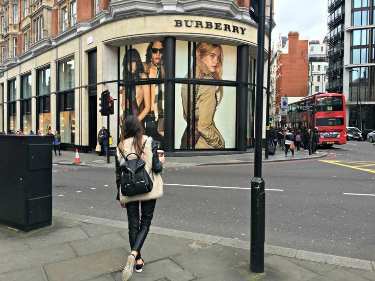 When in London- London style at Knightbridge