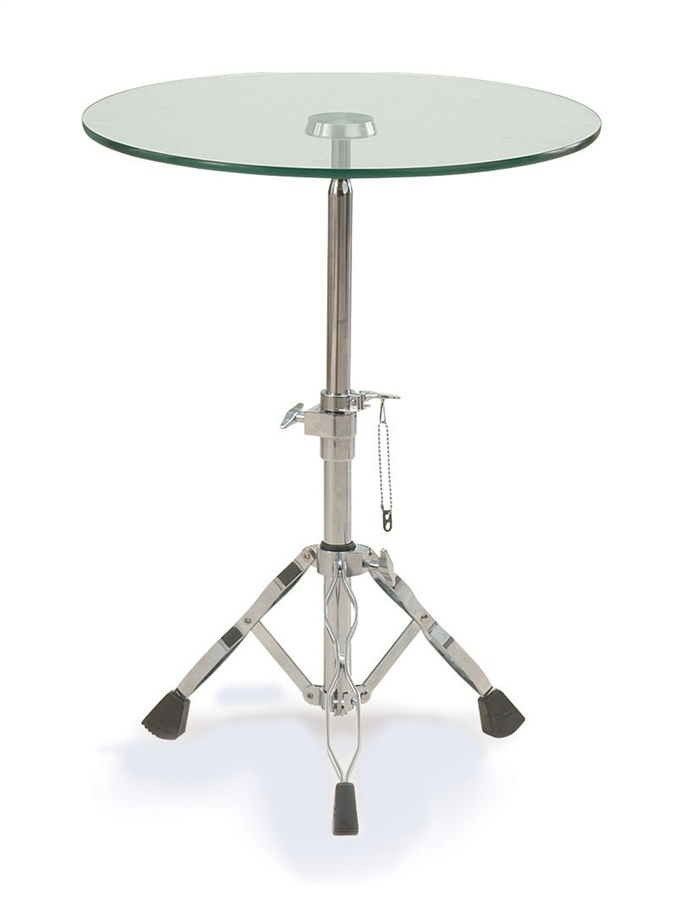 Jazz Adjustable Table In Steel U0026 Glass Finish Height Adjusts From 19 In. To  2