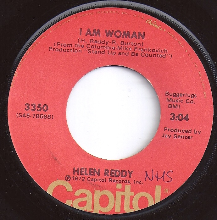#1 on Billboard / I Am Woman / Helen Reddy