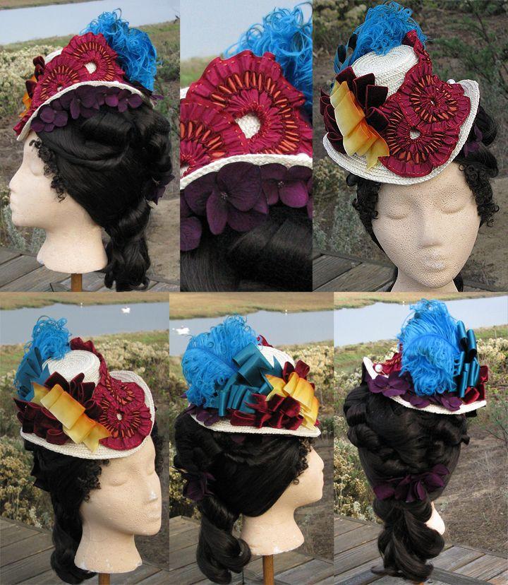PATTERN! 1870-80s Lynnmcmasters Hat Patterns