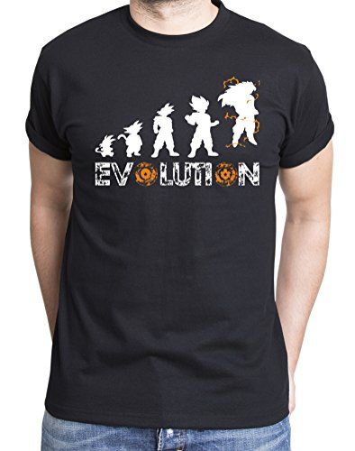 Son Goku Evolution Camiseta de hombre Goku Dragon Master Son Ball Vegeta Turtle Roshi Db #regalo #arte #geek #camiseta