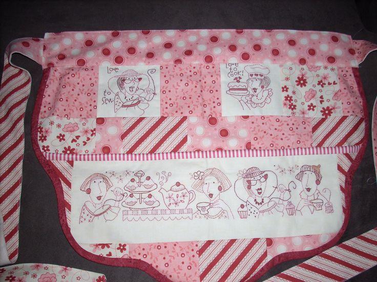 Cute apron based on a Bronwyn Hayes pattern