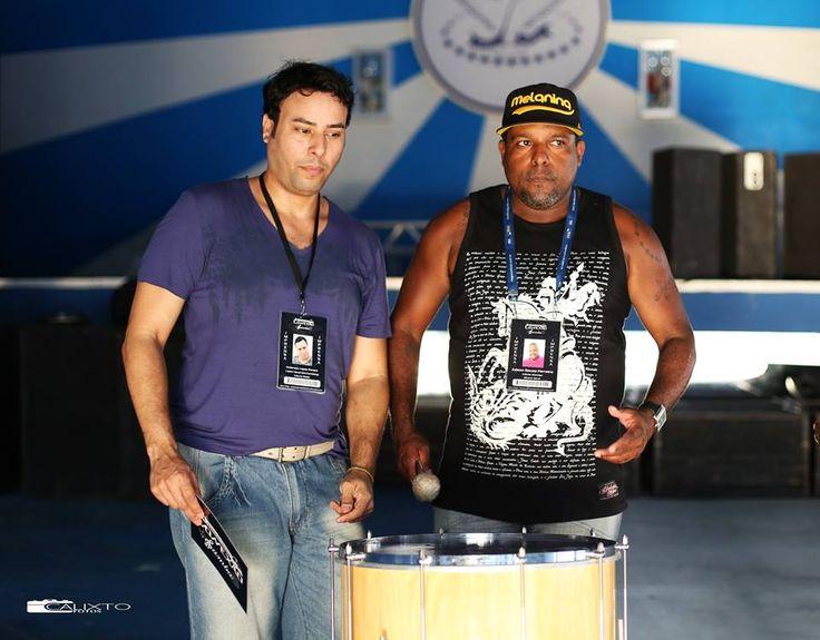 """""""#Sambando com a gente"""" GRES Portela Foto: Robson Calixto Equipe:Conexão Samba (Anderson Lopes,produtor Edinho Meirelys)"""