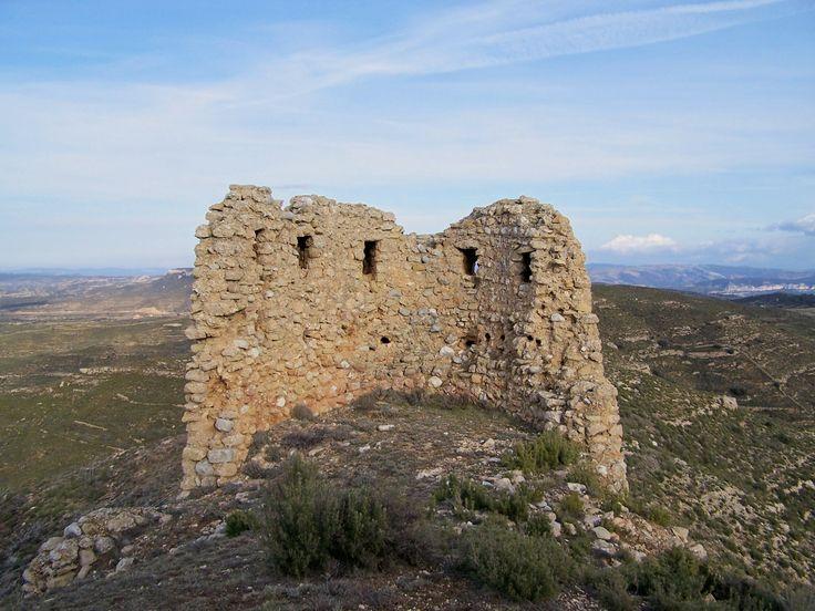 "Castillo de Olocau del Rey.""Castellon .Spain ."