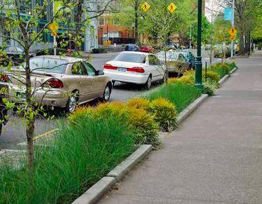 Green Street in Portland, OR