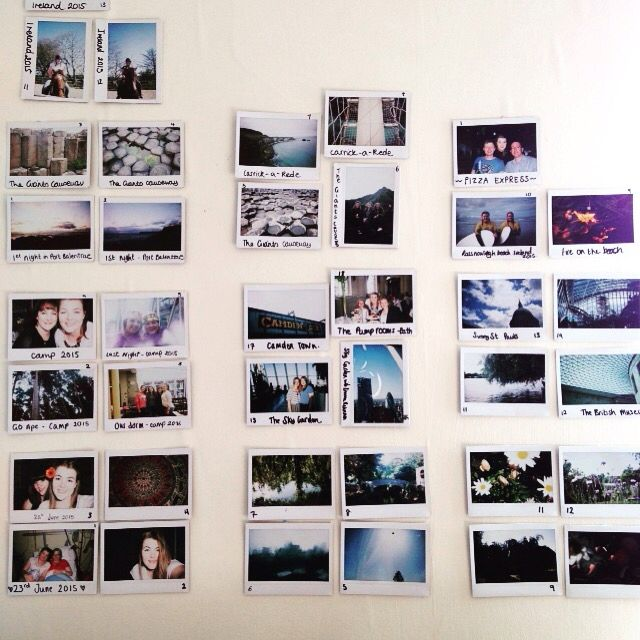 All photos are taken with an Instax Wide 300 camera