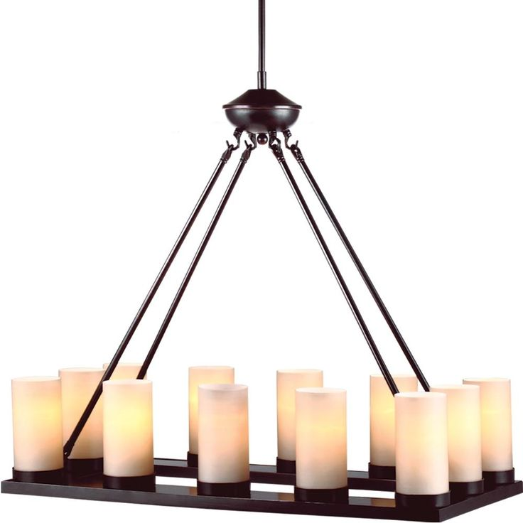 17 Best images about New House Dining Room – Linear Candle Chandelier
