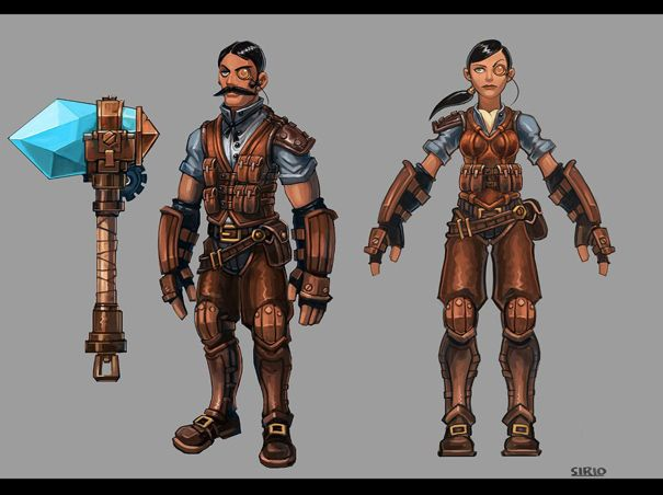 Awesome Robo!: Some Torchlight 2 Art By Sirio Brozzi