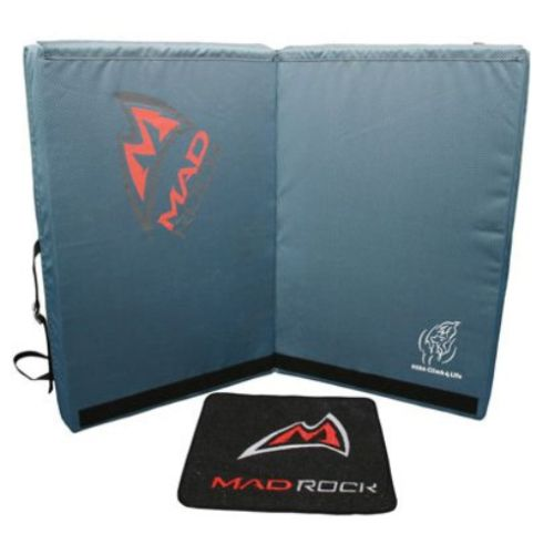 Other Climbing and Caving 1299: Mad Rock Hera Crash Pad - Blue -> BUY IT NOW ONLY: $183.94 on eBay!