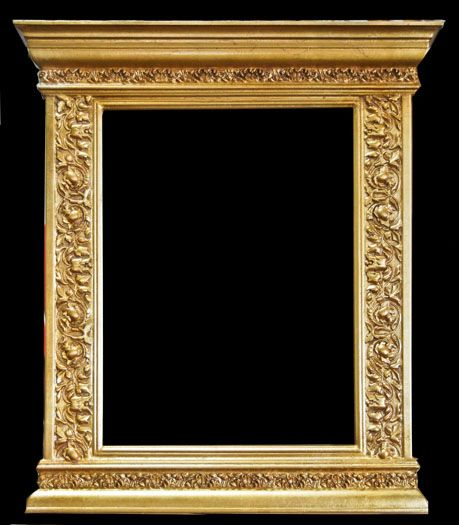 glaser frames is a wholesale manufacturer of closed corner museum quality gold leafed plein air picture frames - Museum Quality Framing