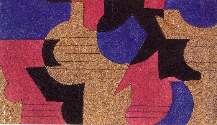 bozzetto per arazzo, 1924