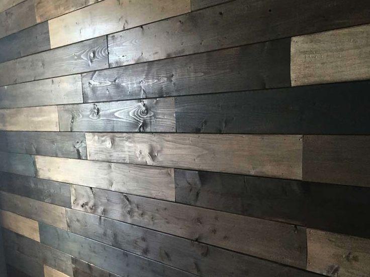 Il y a quelque temps, en m'adonnant à mon passe-temps favori, c'est-à-dire, perdre du temps sur Pinterest dans le but éventuel d'exécuter un des milliers de projets qui ornent mes tableaux, j'ai DÉCIDÉ que mon but ultime dans la vie était de posséder un magnifique mur en bois de grange. Obsédée. J'ai un peu déchanté