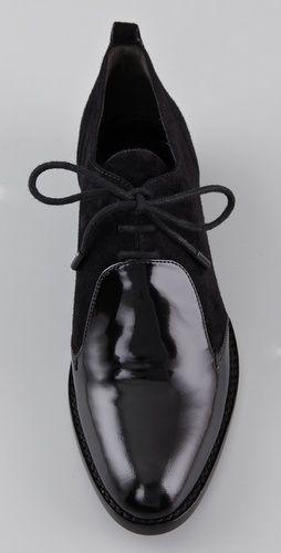 Black oxfords--alexander wang