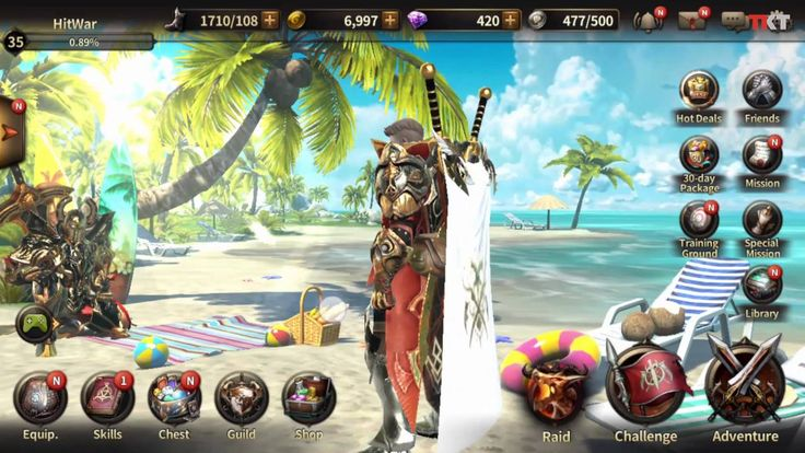 HIT - Heroes of Incredible Taless New Update - MMORPG Mobile