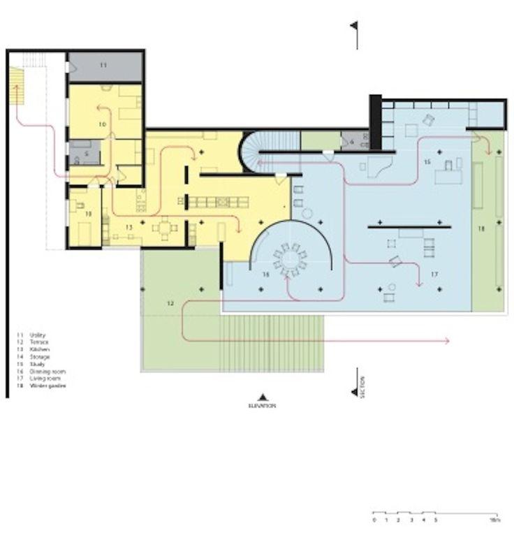 Villa Tugendhat Plan Villa tugendha
