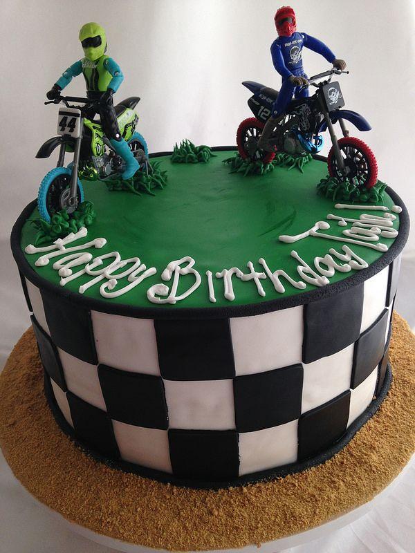 18 best Motocross cakes images on Pinterest Birthday cakes