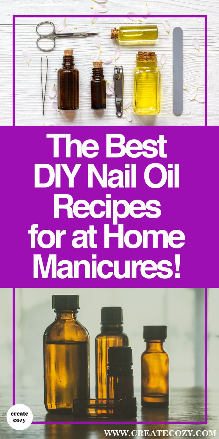 There are so many DIY cuticle oil recipes out there, it's so hard to know where to start. – The great thing about DIY-ing your nail oil is that you can adjust the recipe to exactly your preferences.