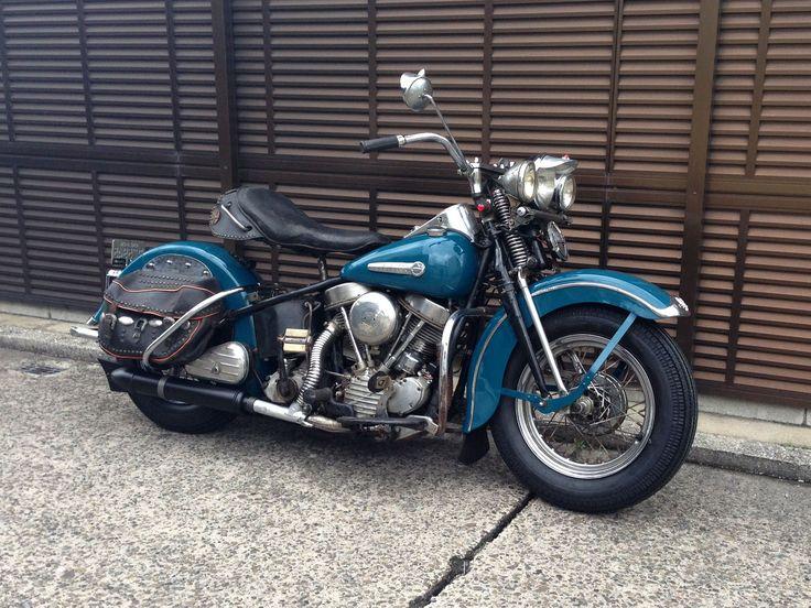 '49EL Owner 綿貫さま  スプリンガーフォークの'49年。夢のあるバイクです。