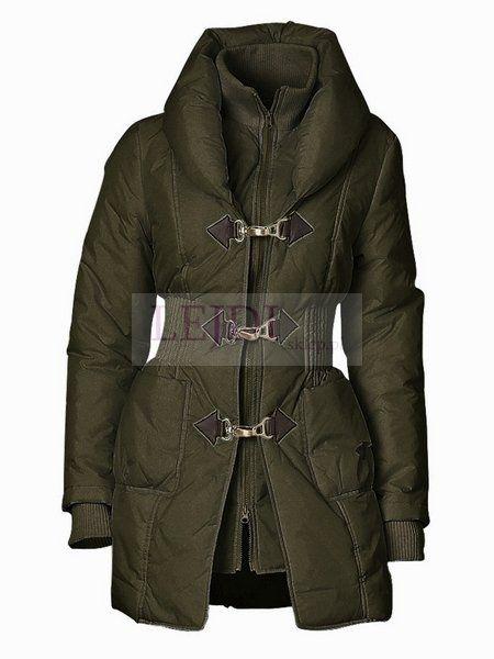Pikowana kurtka HEINE, khaki