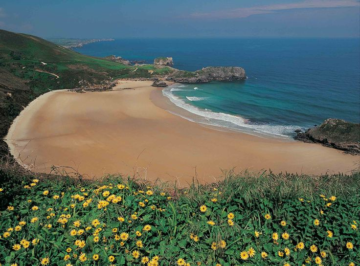 Playa de Torimbia   Portal oficial de turismo del Ayuntamiento de Llanes (Asturias, España)