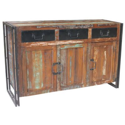 Ansa Reclaimed Wood Sideboard by Dodicci. Get it now or find more Buffets & Sideboards at Temple & Webster.