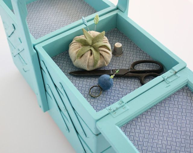 green ardelle: Sewing Box
