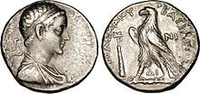 Tetradrachme sous Ptolémée V