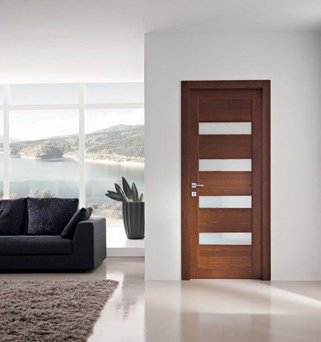Best 25 puertas de madera modernas ideas on pinterest for Puertas de madera con cristal