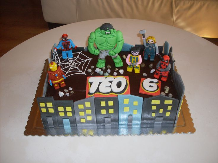 10 best lego spiderman cakes images on Pinterest | Lego spiderman ...