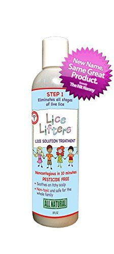 Lice Lifters Lice Solution Treatment (Eliminates Lice) in 10 Minutes. All Live Lice Activity Will Be Gone. Best Used with Lice Lifters Mouse to Get Rid of Head Lice for the Whole Family. The Lice Lifters Nit Removal Comb in Conjunction with the Solution Treatment Eliminates All Lice and Nits Safely for Children. All Natural, Pesticide and Chemical Free Lice Treatment.natural Alternative to Rid. Natural Choice to Nix. All-natural Selection to Lice Md. Best Choice Instead of Fa