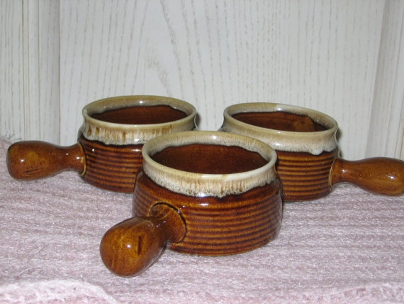 What Is A Zip Code >> 3 Crock type Soup Bowls Brown Wear Stone Wear :) | Bowls, Brown and Zip code