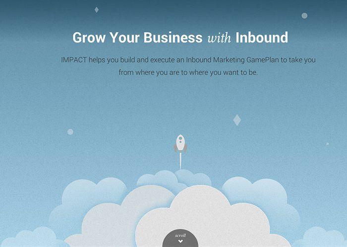 An Inbound World #webdesign #inspiration #UI