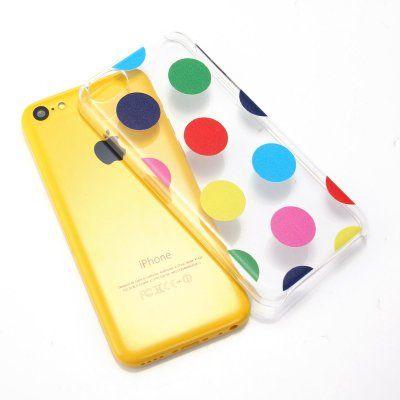Etui Le Bon (tm) Case for Iphone 5c. Cover for Iphone 5c . Criss Cross Patern Clear Transparent. Subtle Diamond pattern in silcone