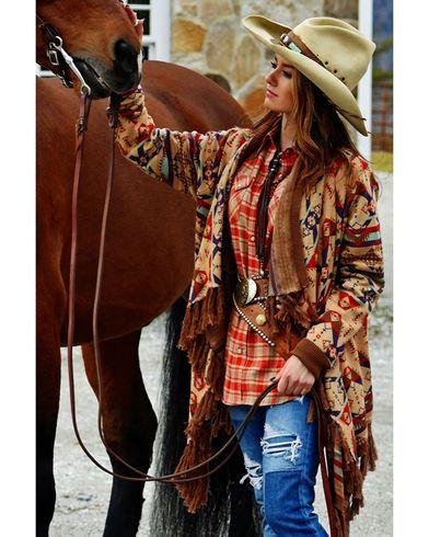 Tasha Polizzi Women's Harvest Blanket Cardigan - Country Outfitter