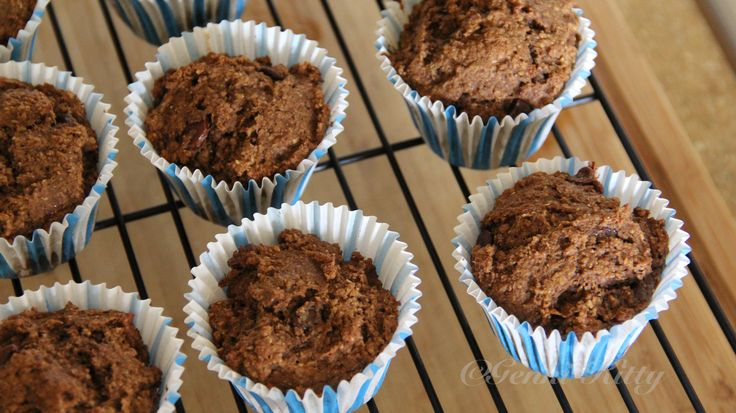 Whole Wheat Germ Muffins Vegan Recipe
