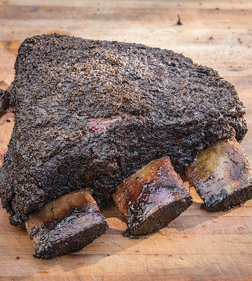 Franklin Barbecue's recipe for Beef Ribs
