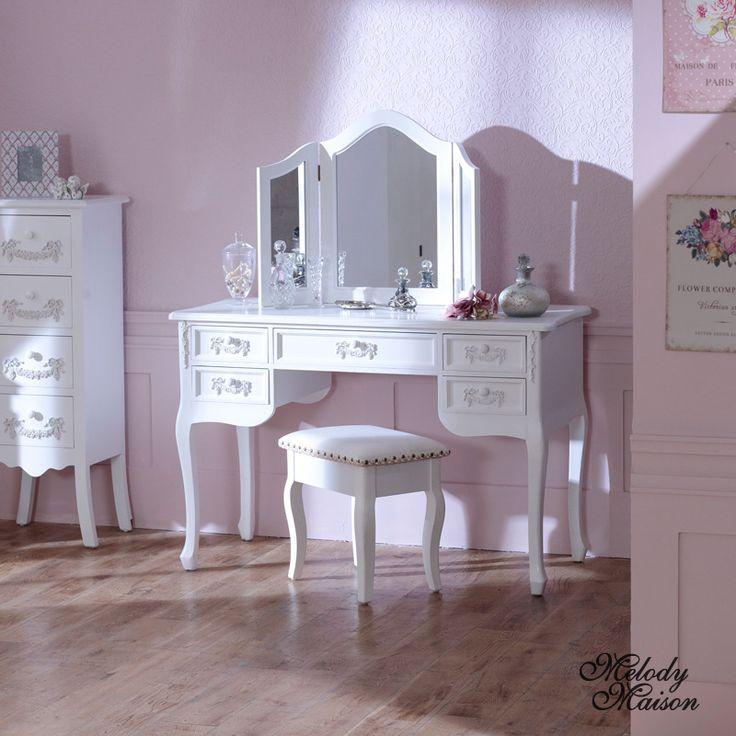 25 best ideas about white dressing tables on pinterest. Black Bedroom Furniture Sets. Home Design Ideas