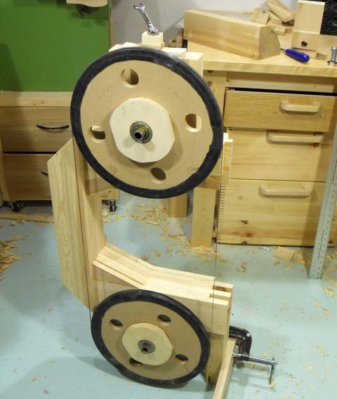 Building the wheel mounts