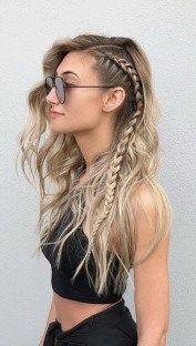 25 Trend Frauen Sommer Braid Frisuren 2019