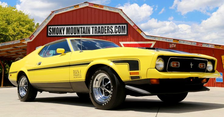 A real 1971 mustang mach 1 429 cobra jet review ford for Jet cars review