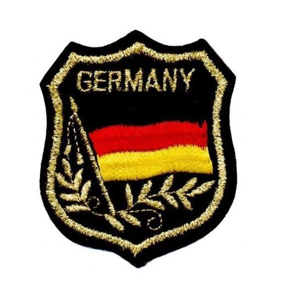 Munich Germany Shield Embroidered Patch