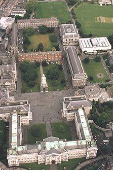 Maps & Floorplans : Trinity College Library Dublin : Trinity College Dublin, The University of Dublin, Ireland