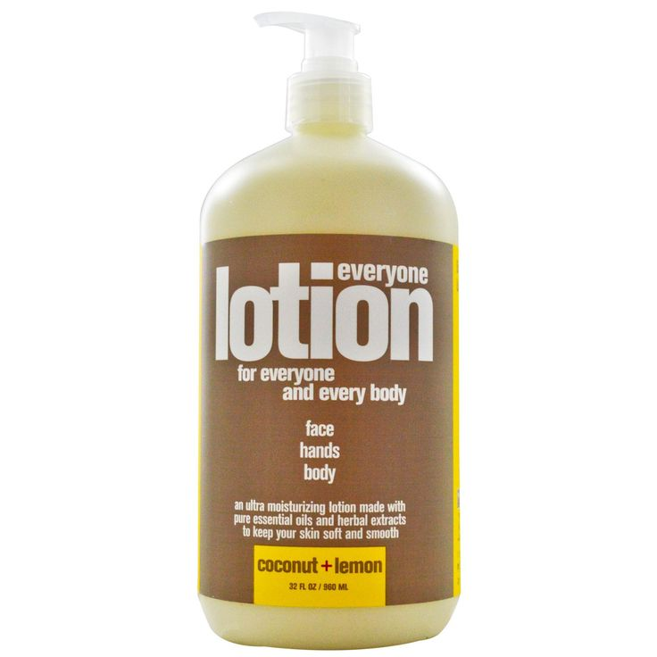EO Products, Everyone Lotion, Face, Hands and Body, Coconut + Lemon, 32 fl oz (960 ml) - 6.70$