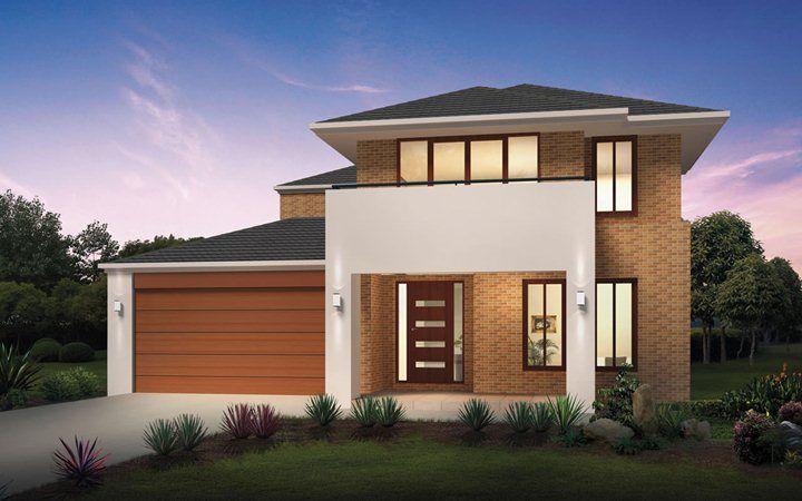 Metricon home designs the glendale kingston facade for Metricon new home designs