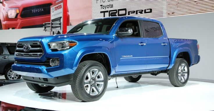 2016 TOYOTA TACOMA CONCEPT! THAT BLUE!!!